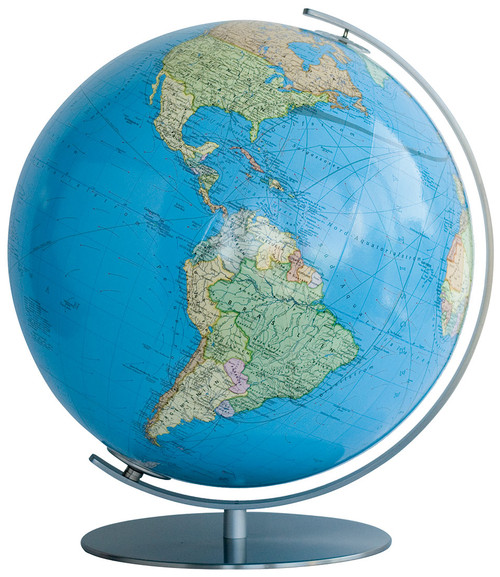 "The Lindau 13"" Illuminated Political/Physical Desk Globe"
