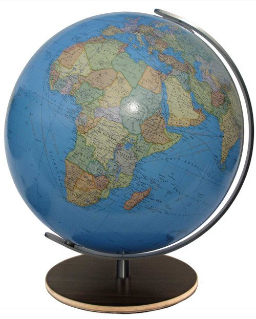 "The Kempton 13"" Illuminated Political/Physical Desk Globe"