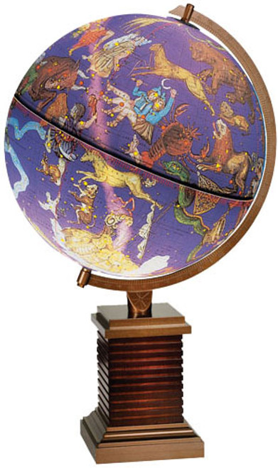 The Glencoe Constellation Desk Globe