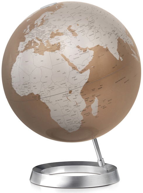 Full Circle Vision Globe - Almond Oceans - from Atmosphere Globemakers