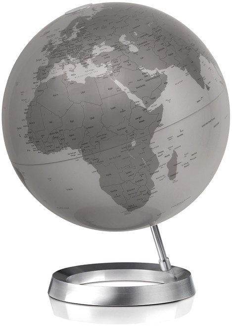 Full Circle Vision Globe - Silver Oceans - from Atmosphere Globemakers
