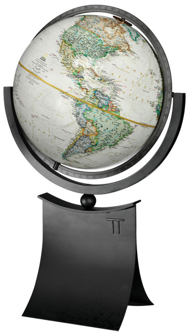"""The Phoenix II - 12"""" Raised Relief Desk Globe from National Geographic"""