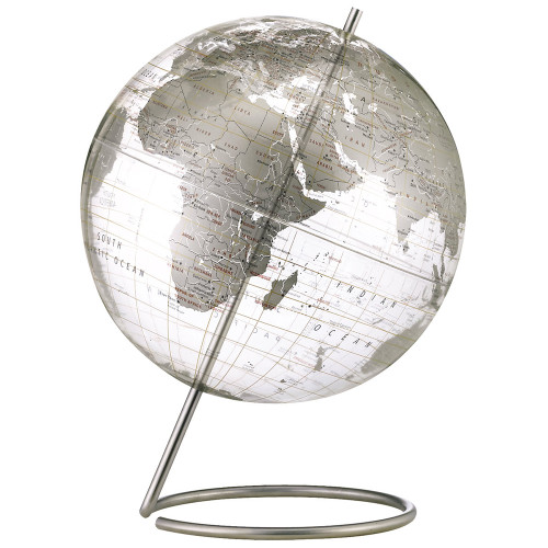 "The Crystal Marquise 12"" Desk Globe"