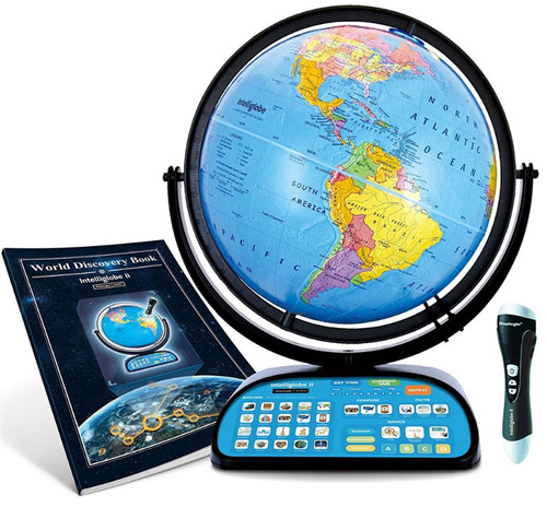 "The Intelliglobe II 12"" Talking Desk Globe"