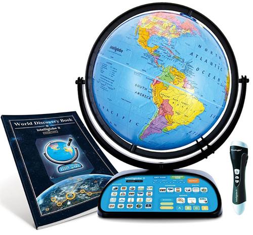 "The Intelliglobe II 12"" Talking Desk Globe"