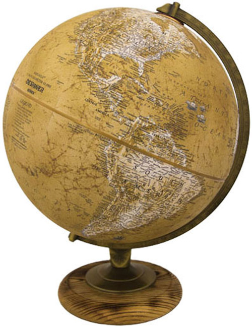 "The Morgan 12"" Political Desk Globe"