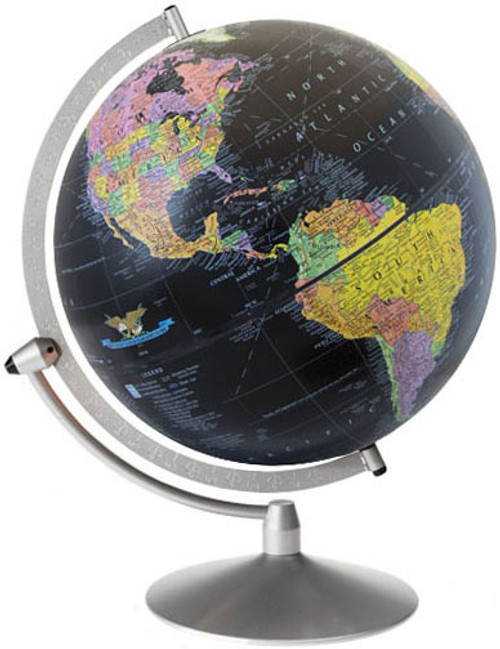 "The Midnight 12"" Political Desk Globe"