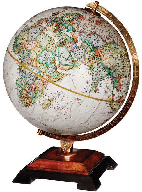 "The Bingham 12"" Raised Relief Desk Globe from National Geographic"