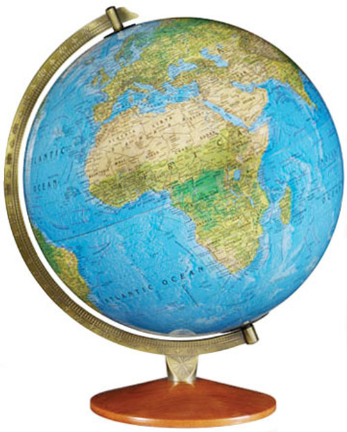 The Odessa Physical/Political Desktop Globe
