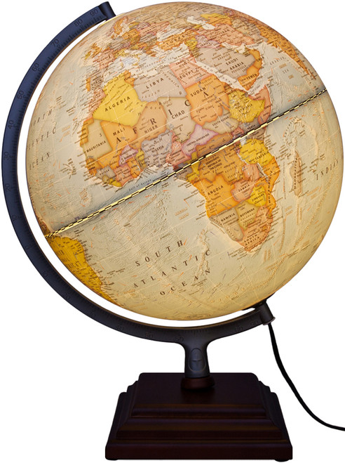 "The Odyssey II 12"" Illuminated Desk Globe"