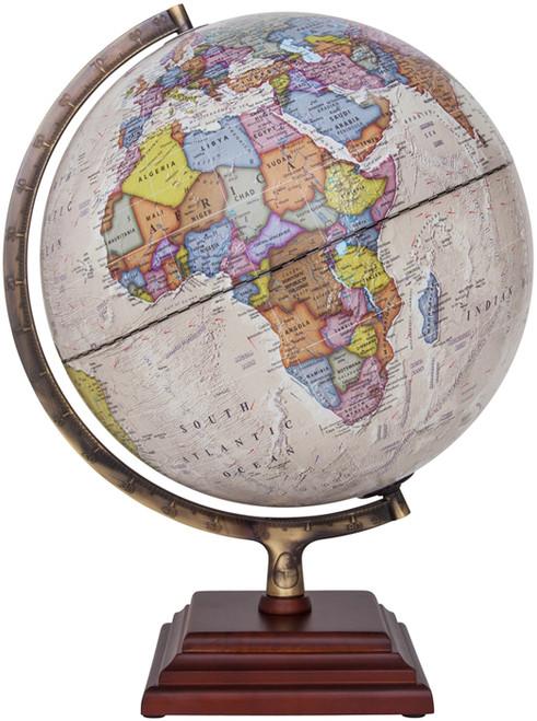 """The Atlantic II 12"""" Political Globe"""