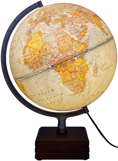 "The Aviator II 12"" Political Globe"