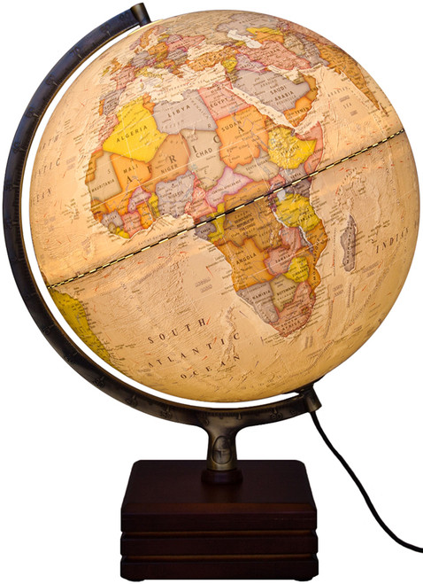 "The Horizon II 12"" Political Illuminated Globe"