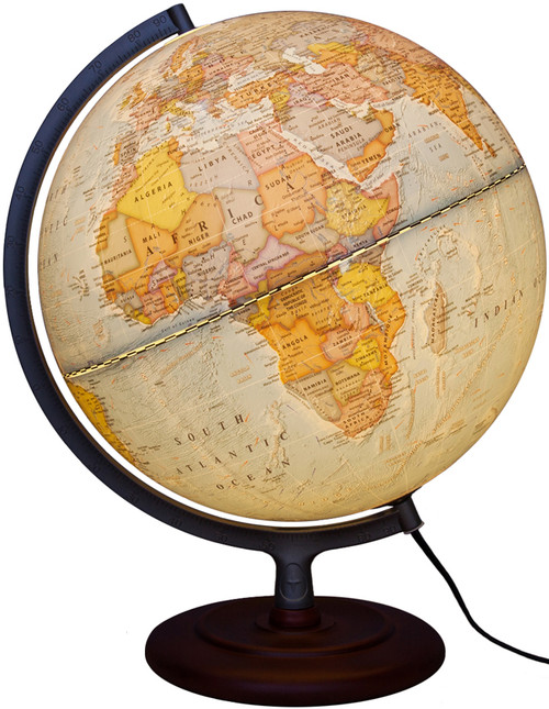 "The Mariner II 12"" Political Globe"