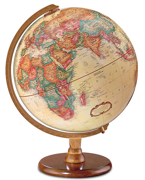 The Hastings French Language Desk Globe