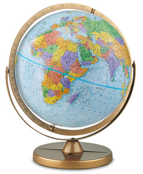 The Pioneer Spanish Language Globe