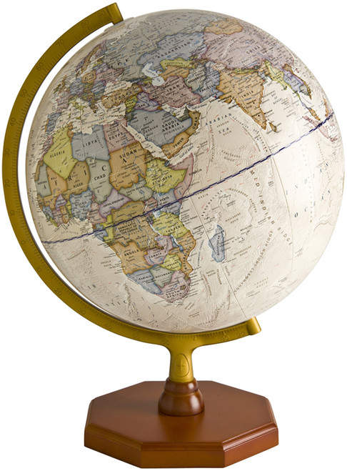 "The Voyager 12"" Political Globe"