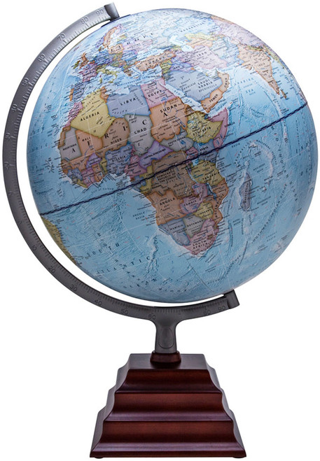 "The Pacific 12"" Political Globe"