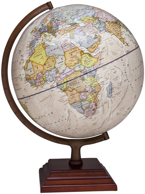 "The Atlantic 12"" Political Globe"