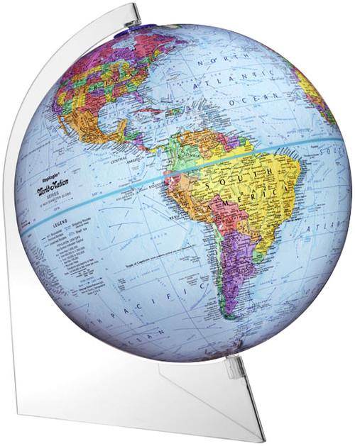 "The Panorama 12"" Political Desk Globe"