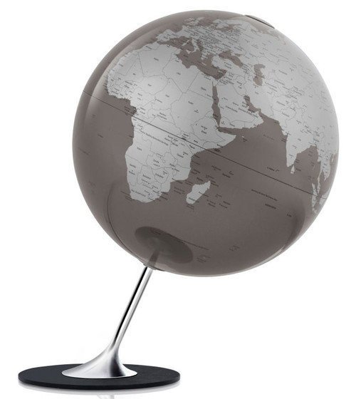Anglo Globe - Slate Oceans - from Atmosphere Globemakers