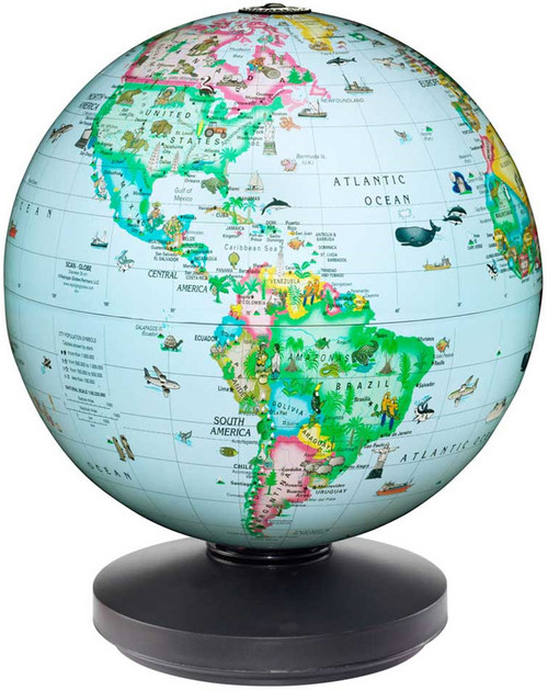 The Rotating Globe