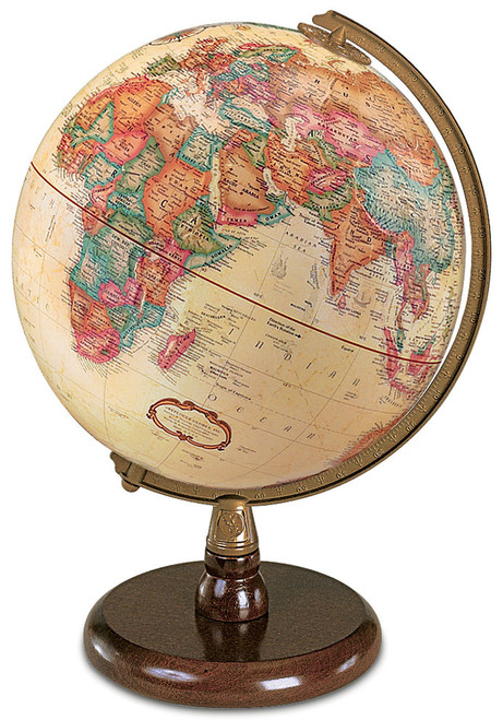 The Quincy Desk Globe
