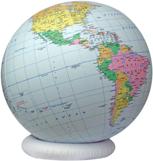 Huge Inflatable Worldball