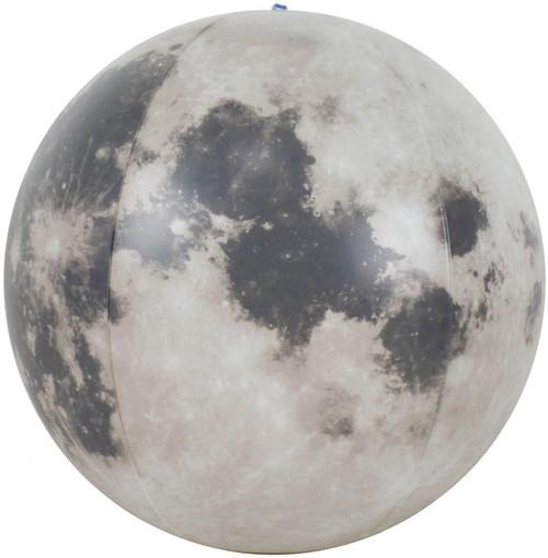 "12"" Glow in the Dark Inflatable Illuminated Moon Globe"