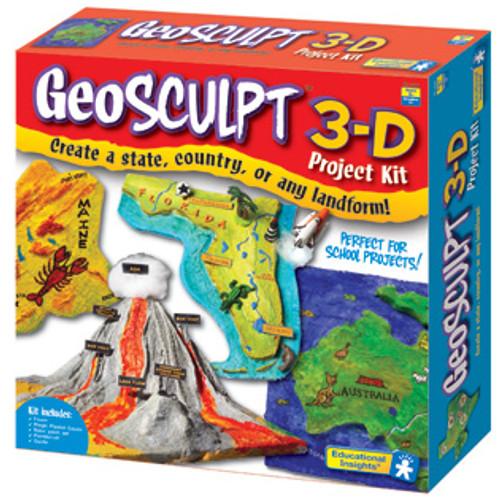 GeoSculpt 3-D Project Kit from GeoSafari