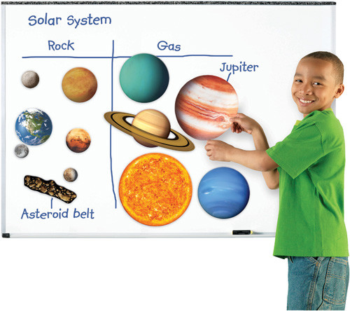 Magnetic Solar System Set