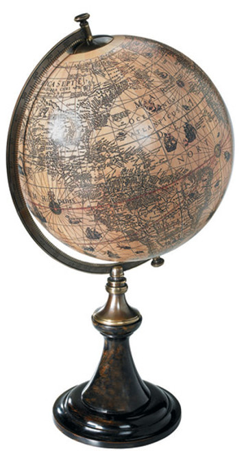 Hondius Desk Globe 1627 Jodocus Hondius Reproduction
