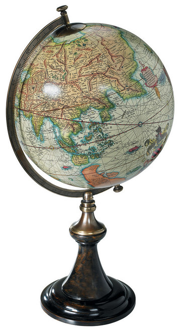 Mercator Desk Globe 1541 Gerardus Mercator Reproduction