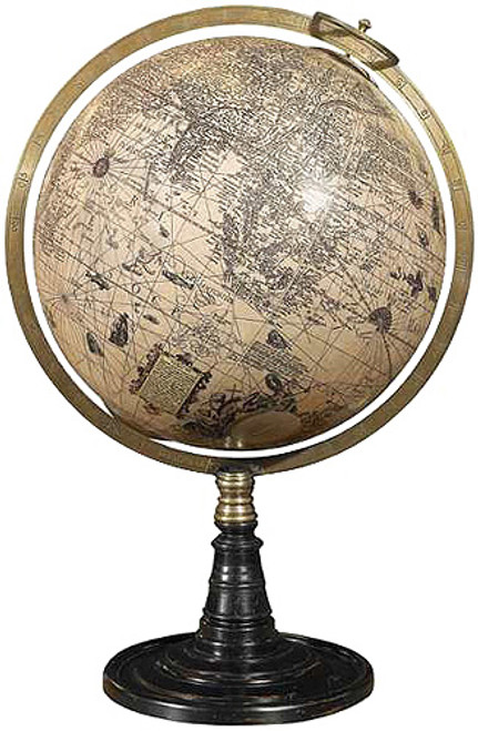 Hondius Desk Globe - Old World Stand