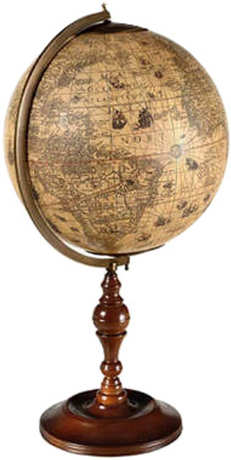Hondius Desk Globe 1600 Reproduction