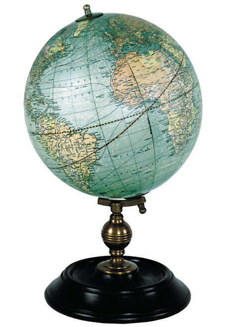 "Weber Costello Globe 1921 Reproduction - 7"" Diameter"