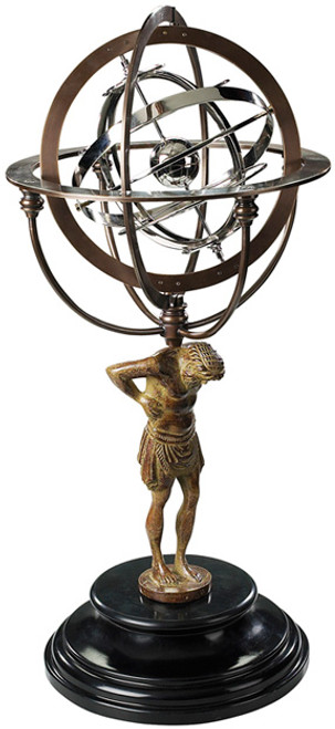 Atlas Armillary 18th Century Reproduction