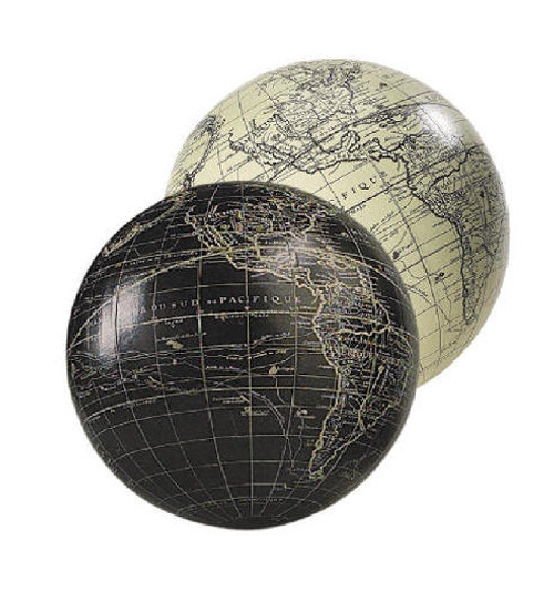 White Globe - Vaugondy, 1745