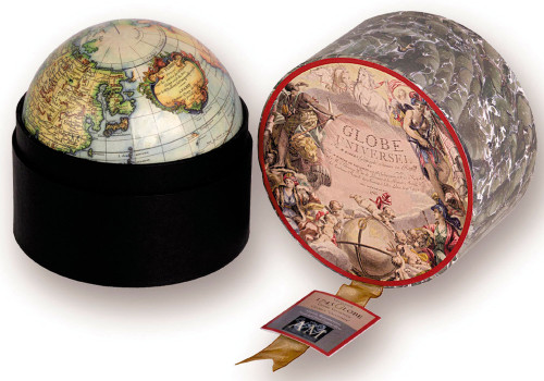 Globe in Box - Vaugondy Reproduction