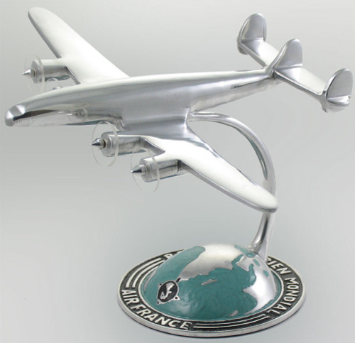 Airplane with Globe