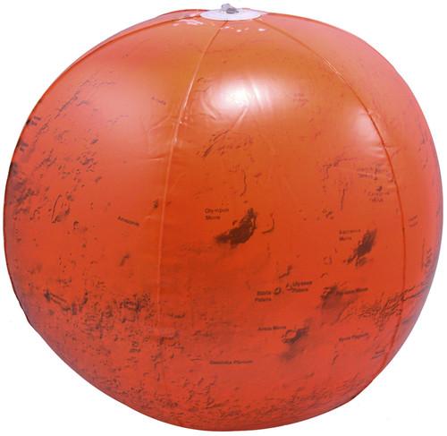 "14"" Inflatable Mars Globe"
