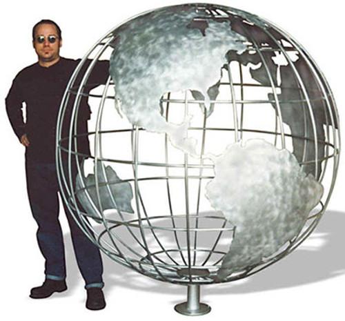 Giant Aluminum Globes