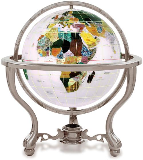 Opal Gemstone Globe