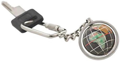 Gemstone Globe Keychains