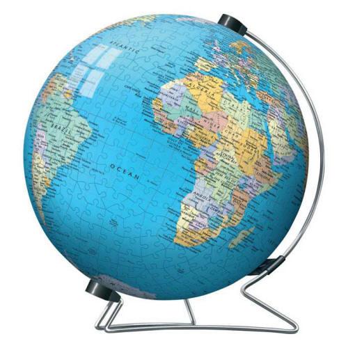 Earth Puzzle Globe