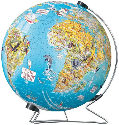 Discover the World! Puzzle Globe
