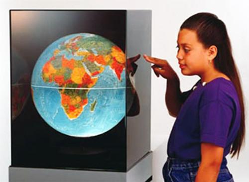 Equinox - Rotating Display Globe 3-D Earth Model, Displaying Night and Day, Seasonal Changes