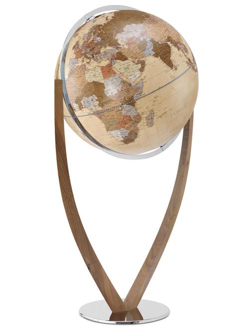 Versus 24 Inch Floor Globe - Antique Ocean