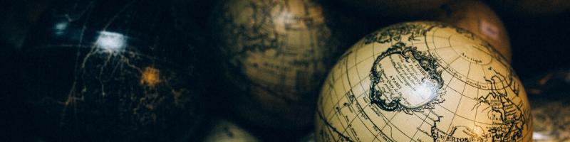 Variety of World Globes