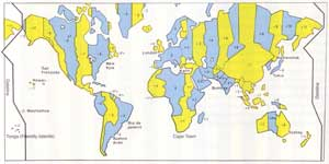 planet earth time zones